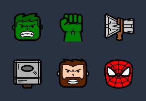Avengers Filled