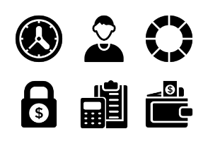 Banking and Finance Glyphs vol 4