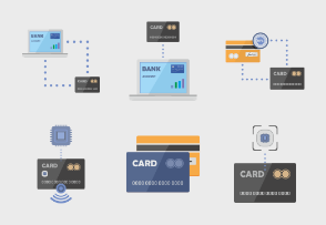 Banking service: credit cards based on NFC & internet banking