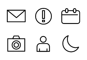 Universal Linear Icon
