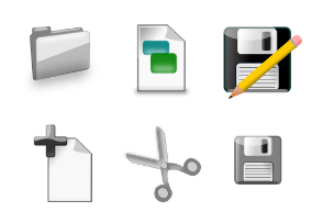 Basic File Operations icons