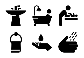 Bathroom Icons
