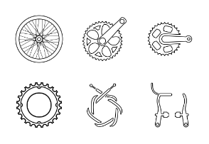 Bicycle parts, components and accessories