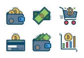 Digital Bitcoins & Coins