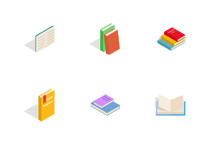Book - Isometric