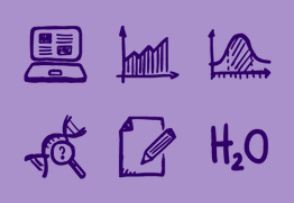 Brainy Icons Free — 36 Science and Education Icons