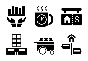 Business and Finance Glyph 16