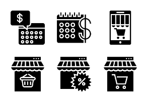 Business and Finance Glyph 19