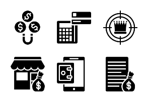 Business and Finance Glyph 2