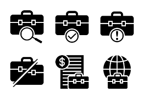 Business and Finance Glyph 6
