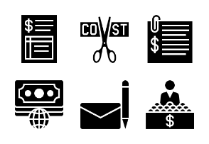 Business and Finance Glyph 7