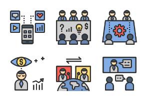 Business Collaboration Color