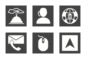 Business & Finance I Glyph Inverted