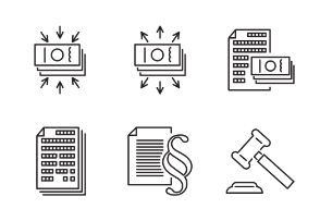 Business icons. Set 2