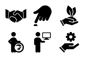 Business Startup Icons