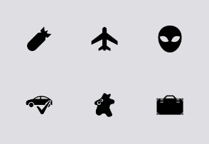Business Vector Tab Bar Icons