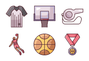 Basketball - BZZRICON Filled Lines