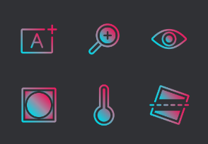 Camera Interface Gradient - Rise and shine