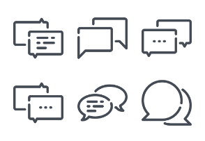 Chat bubble and messages