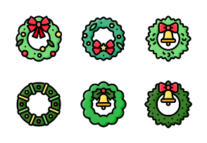 Christmas wreath 2 (filled)