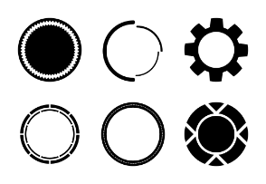 Circle Badge Set