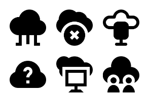 Cloud Computing Glyph