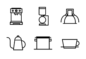 Coffee Outline