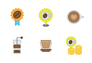 Coffee and cafe (color)