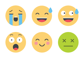 Colored Emoticons Collection