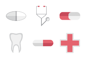 coloured objects for illness