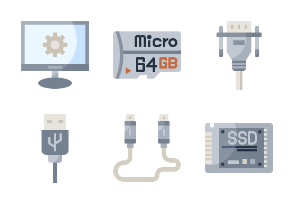 Computer components flaticon