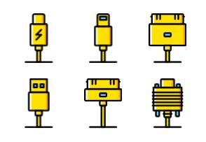 Connectors & Cables - Yellow - Vol 2
