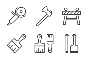 iOS icons - Construction work