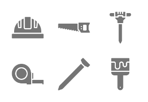 Construction & Tools - Glyph