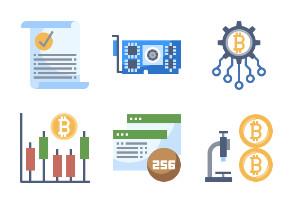 Cryptocurrency Flaticons