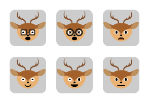 Deer Set Volume 2