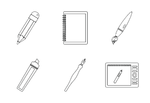 Design and drawing tools - Outline