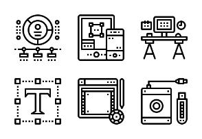 Designer Gadget outline