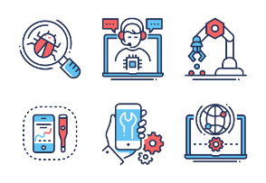 Devices and device service - Innovicons - Color
