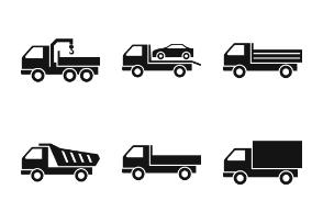 Different trucks