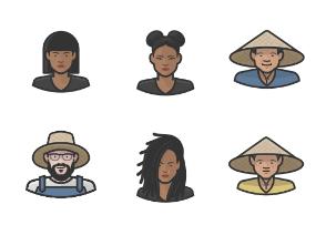 Diversity Avatars Vol. 4