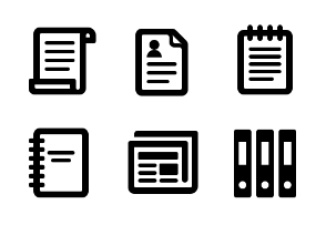 WatchKit icons - Documents