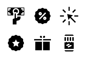 E-Commerce and Shopping (Glyph)