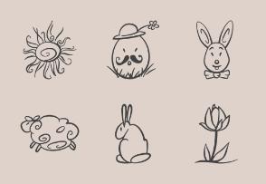 Easter curvy