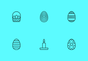Easter Holiday Outline Styled