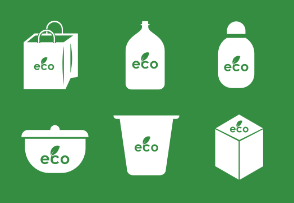 Eco pack for food and plant products