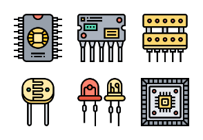 Electronic-Component-FillOutline