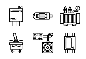 Electronics Components Outline