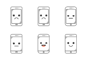 Emoji Devices - outline