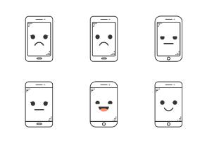 Emoji Devices - outline